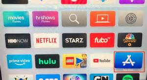How to get to the App Store on your Apple TV device