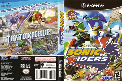 GXEE8P - Sonic Riders