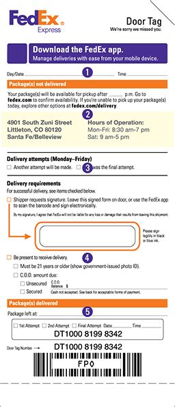 PSA: Per FedEx, won't deliver to apartment office at