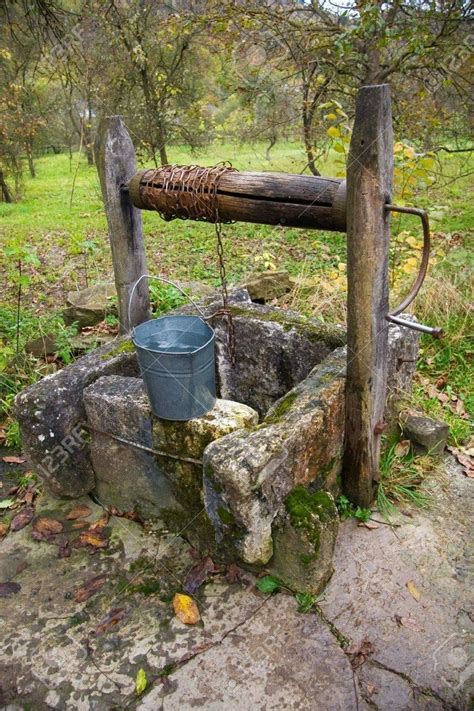 Old well on village suburb Stock Photo - 5991252   Country