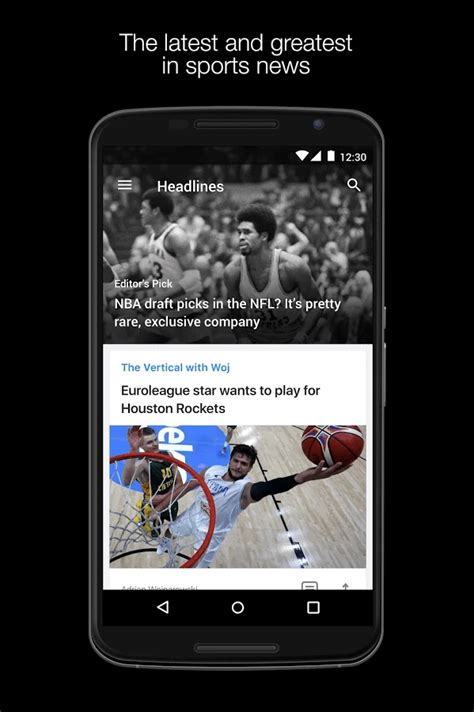 Yahoo Sports App Brings You The Latest Sports Scores & Info