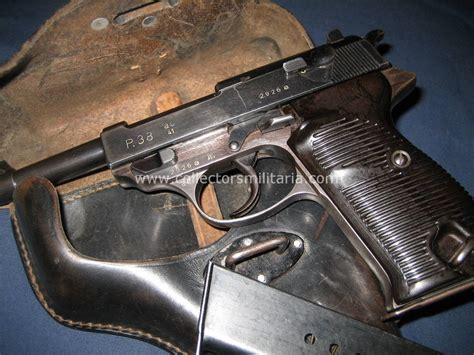 A Nice WWII German Walther AC 41 P38 With Original Holster