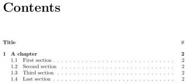 table of contents - Adding fancy page to TOC - TeX - LaTeX