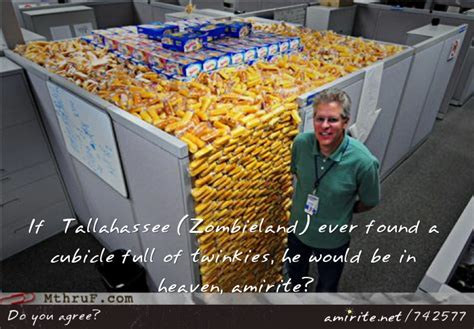 Zombieland Twinkie Quotes