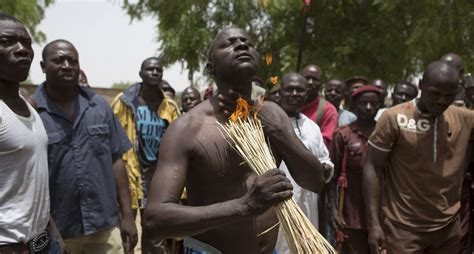 Nigerian Witch Doctor Tries To Prove Charms Are