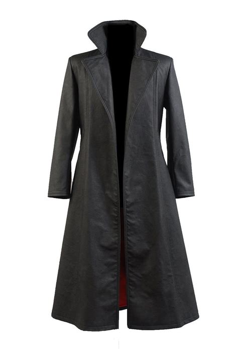 Wesley Snipes Blade Leather Trench Coat - Filmstaroutfits