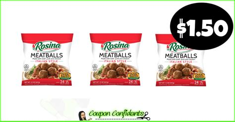 Rosina Meatballs for a stock up price at Winn Dixie and