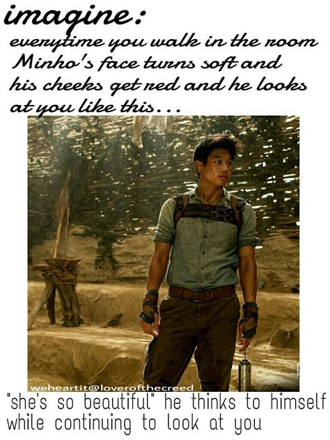 Minho, the maze runner, and imagines by loverofthecreed