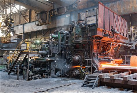 TATA Steel IJmuiden, roughing stand at the hot strip mill