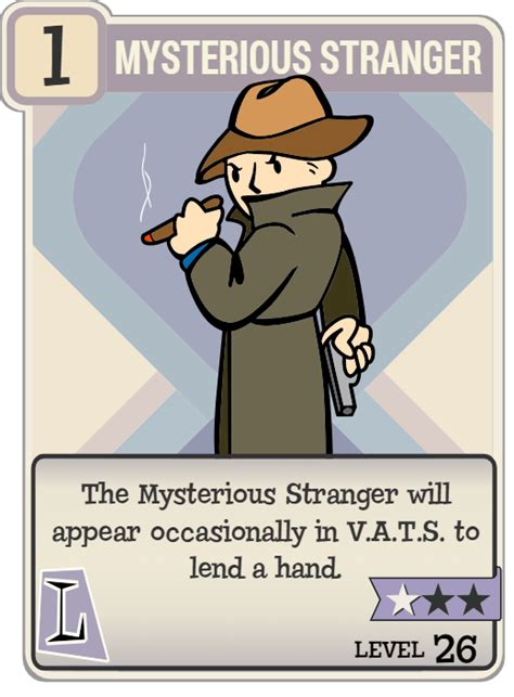 Mysterious Stranger   Fallout Wiki   FANDOM powered by Wikia